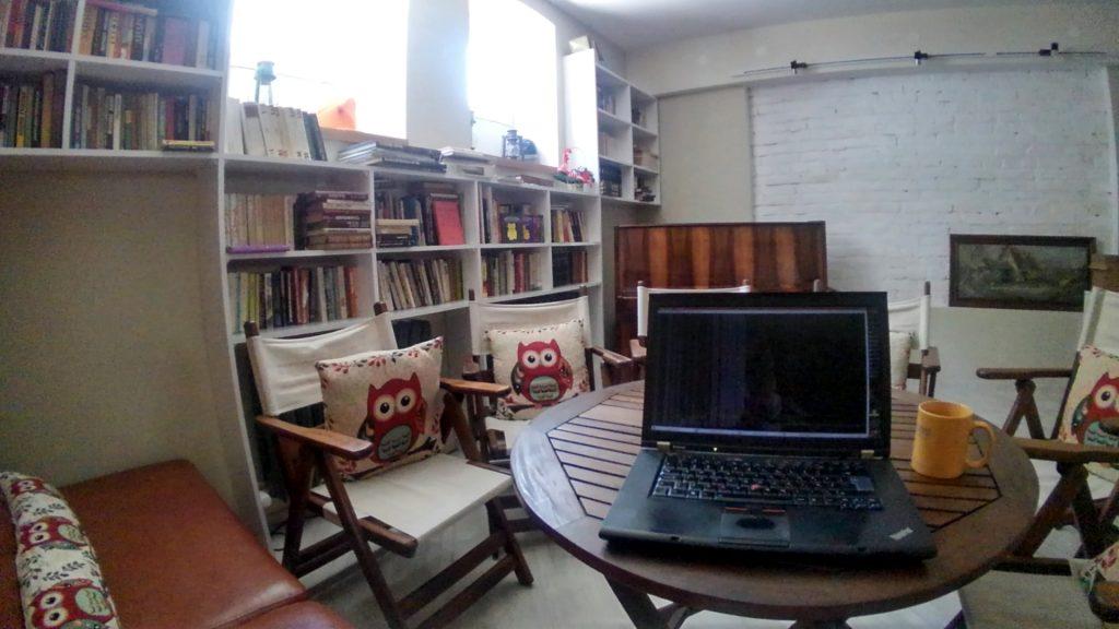 Откъде работя днес, фрийланс, La Maison, свободна практика