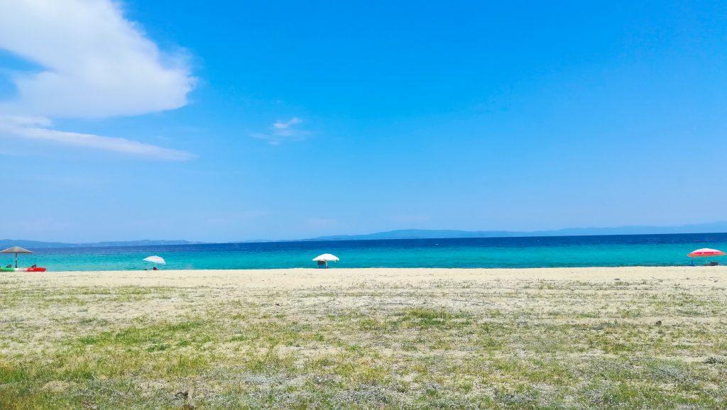 Ормос Панагияс, Гърция, море, фрийланс, фрийлансър, откъде работя днес