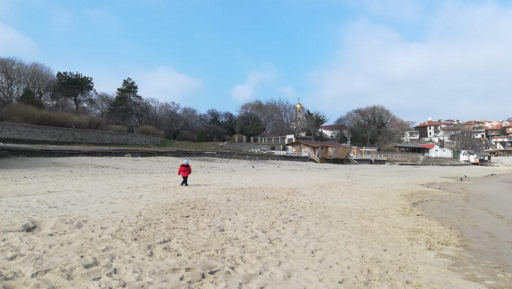 плажът в стария град