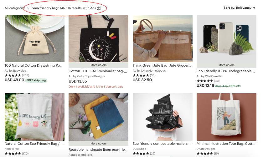 Etsy, тенденции, онлайн магазин, свободна практика