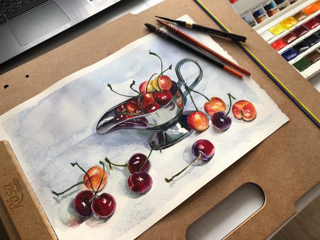 стела тончева, как да продаваш сам изкуството си, картини, свободна практика, илюстрации